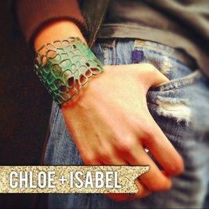 Chloe + Isabel Patina Open Cuff Bracelet